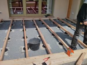 mein hausbau blog und weiter gehts mit der terrasse. Black Bedroom Furniture Sets. Home Design Ideas